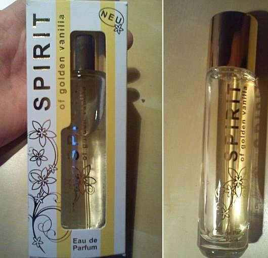 SPIRIT of golden vanilla Eau de Parfum