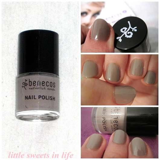 benecos Nail Polish, Farbe: urban grey