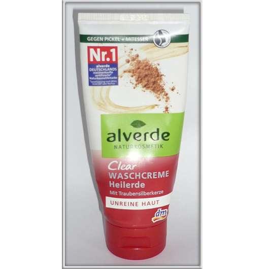 alverde Clear Waschcreme Heilerde (unreine Haut)