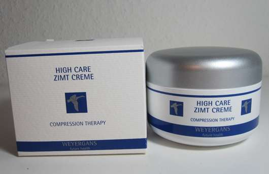 WEYERGANS High Care Zimt Creme
