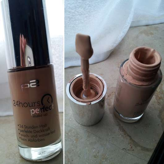 p2 24hours perfect make up, Nuance: 010 perfect shell