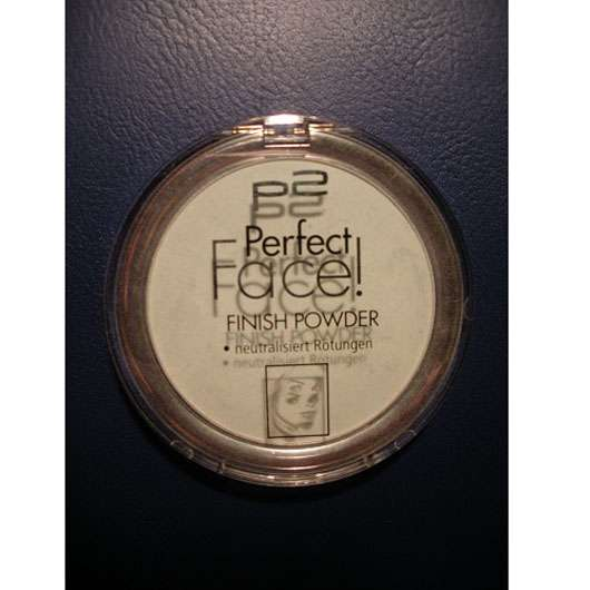 p2 perfect face! finish powder, Farbe: 030 green neutralizer