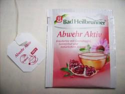 Produktbild zu Bad Heilbrunner Abwehr Aktiv Kräutertee
