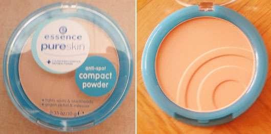 essence pure skin anti-spot compact powder, Nuance: 01 beige