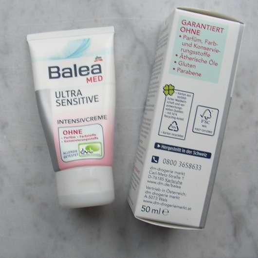 Beliebt Bevorzugt Test - Nachtpflege - Balea Med Ultra Sensitive Intensivcreme #LX_05