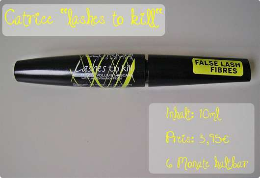 Catrice Lashes To Kill False Lashes Volume Mascara