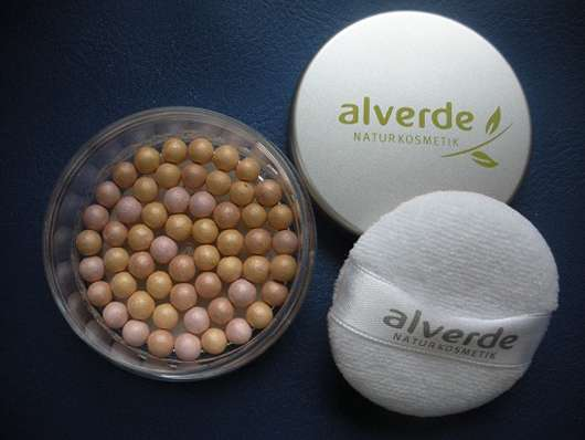 alverde Color & Care Schimmer-Puderperlen