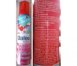 Produktbild zu Balea Young Duschschaum Erdbeertraum (LE)