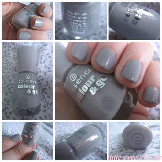 essence colour & go nail polish, Farbe: 142 grey-t to be here