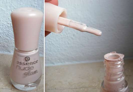 essence nude glam nail polish, Farbe: 04 iced latte
