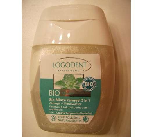 Logodent Bio-Minze Zahngel 2in1 (Zahngel + Mundwasser)