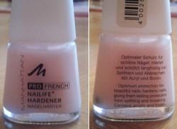 Produktbild zu MANHATTAN Pro French Nailife Hardener
