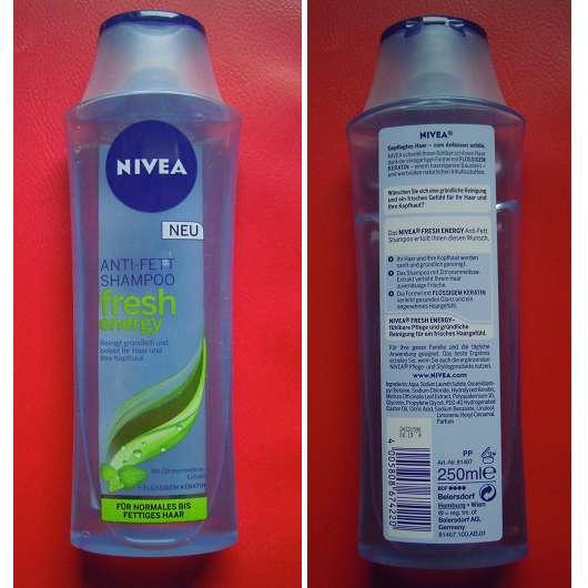 "Nivea Anti-Fett Shampoo ""fresh energy"""