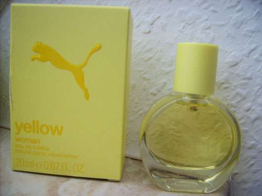 Puma Yellow Woman Eau de Toilette