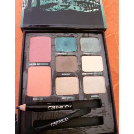 Catrice The San Francisco Collection Eye And Cheek Palette (Big City Life LE)