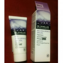 Produktbild zu DR. SCHELLER Bio-Hyaluron & Amlaöl Fältchenminimierende Pflege Nacht