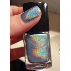 Produktbild zu SNC Super Nail Center Holographic Nail Polish – Farbe: 303 Bluemotion