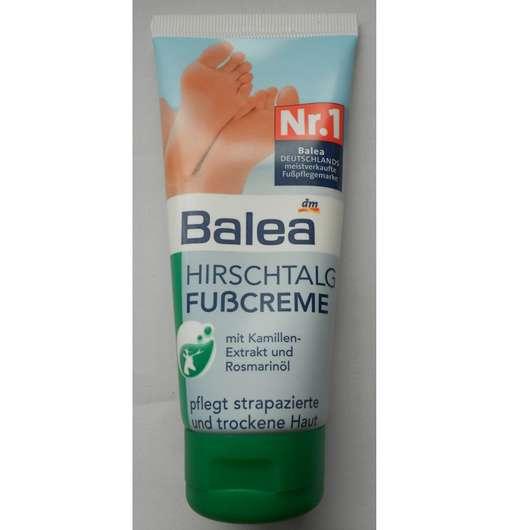 Balea Hirschtalg Fußcreme