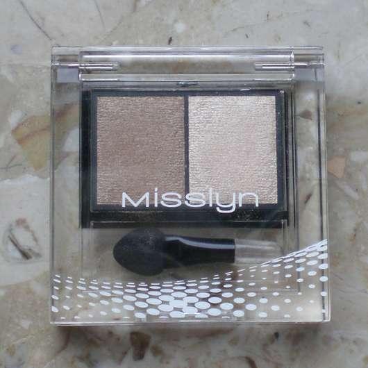 Misslyn High Shine Duo Eyeshadow, Farbe: 271 enchanting eyes