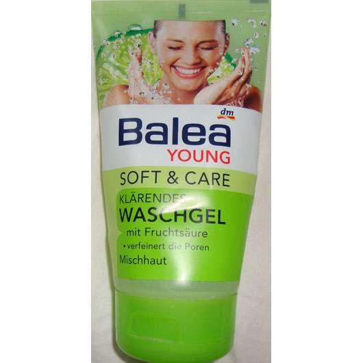 <strong>Balea Young Soft & Care</strong> Klärendes Waschgel mit Fruchtsäure