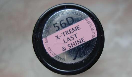 test lippenstift manhattan x treme last shine lipstick farbe 56d testbericht von la. Black Bedroom Furniture Sets. Home Design Ideas