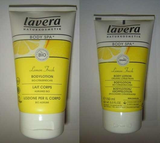 lavera BODY SPA Lemon Fresh Bodylotion