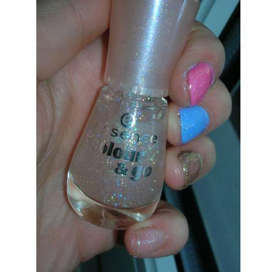 essence colour & go nail polish, Farbe: 103 space queen