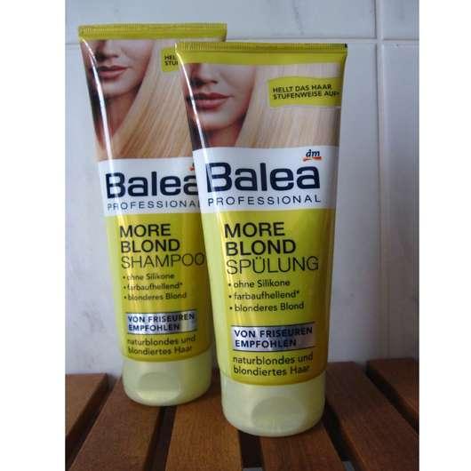 test sets balea professional more blond shampoo sp lung testbericht von sisterventure. Black Bedroom Furniture Sets. Home Design Ideas