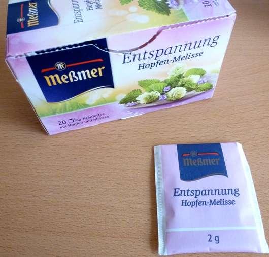 <strong>Meßmer</strong> Entspannung Hopfen-Melisse Kräutertee