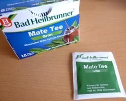 Produktbild zu Bad Heilbrunner Mate Tee Grün