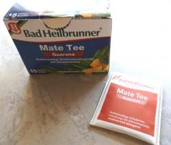 Produktbild zu Bad Heilbrunner Mate Tee Guarana