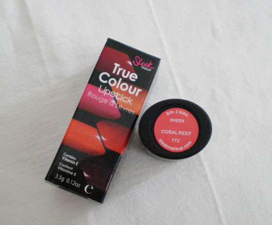 Sleek MakeUP True Colour Lipstick, Farbe: 772 Coral Reef