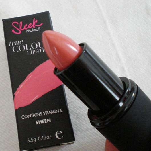 Sleek MakeUP True Colour Lipstick, Farbe: Barely There