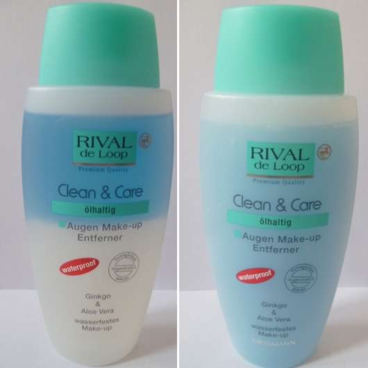 Rival de Loop Clean & Care Augen Make-Up Entferner waterproof (ölhaltig)