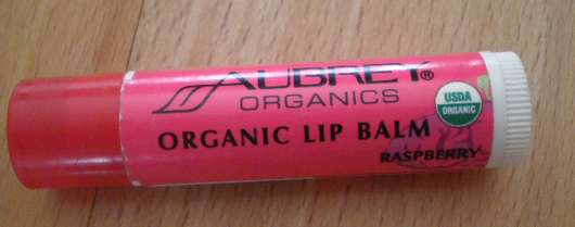 Aubrey Organics Organic Lip Balm Raspberry