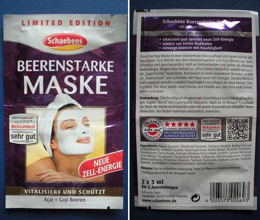Schaebens Beerenstarke Maske (LE)