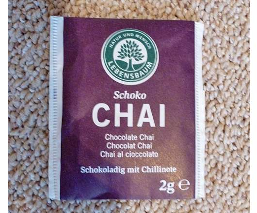 Lebensbaum Schoko Chai Tee