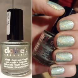 Produktbild zu Claire's Nail Polish Holographic – Farbe: Hellgrün