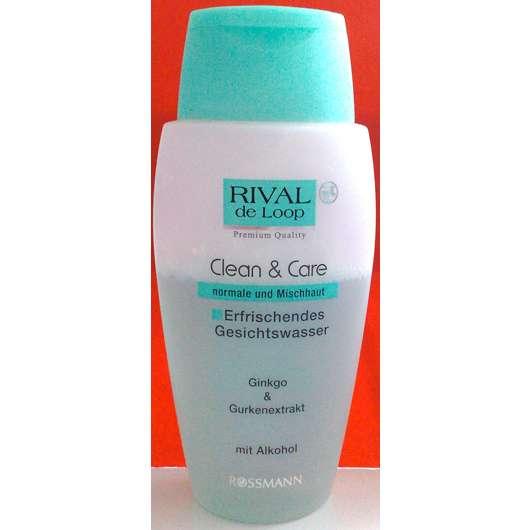 Rival de Loop Clean & Care Erfrischendes Gesichtswasser