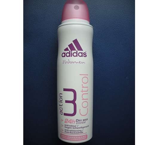 Test  Deodorant  adidas for women action 3 Control AntiTranspirant