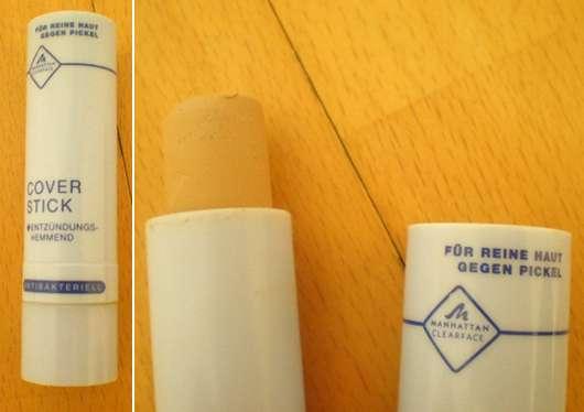 MANHATTAN CLEARFACE Coverstick mit Wirkstoffkern, Farbe: 70 Vanilla