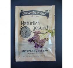 Produktbild zu Dresdner Essenz Natürlich Gesund Entspannungsbad Lavendel Melisse