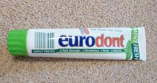 <strong>eurodont</strong> Mint Fresh Zahncreme