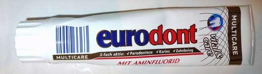 <strong>eurodont</strong> Multicare Zahncreme
