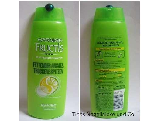 Test Shampoo Garnier Fructis Fettender Ansatz Trockene Spitzen