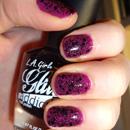 L.A. Girl glitter addict nail polish, Farbe: uninhibited