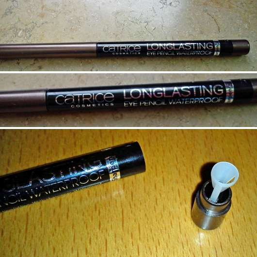 Catrice Longlasting Eye Pencil Waterproof, Farbe: 050 Brown Town Girl