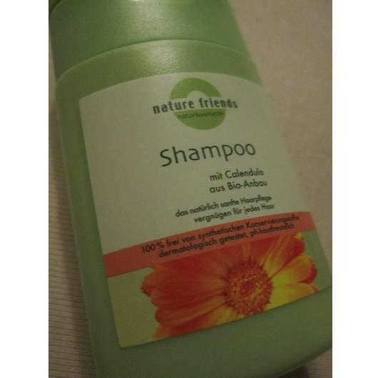 Nature Friends Shampoo mit Calendula aus Bio-Anbau