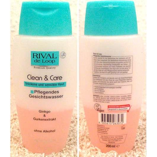 Rival de Loop Clean & Care Pflegendes Gesichtswasser