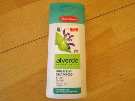 alverde Sensitiv-Shampoo Birke Salbei